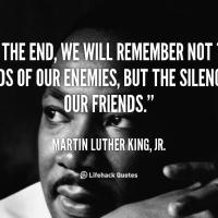 MLK's Quotes, My Philosophy