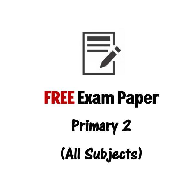 FREE Past Prelim Exam Paper Download- Secondary 4 English