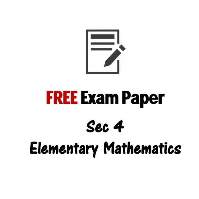 FREE Past Prelim Exam Paper Download