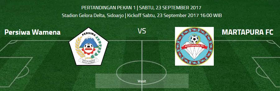 Persiwa Wamena vs Martapura FC