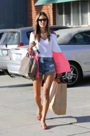 Alessandra Ambrosio'nun alışveriş keyfi