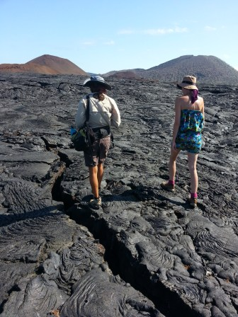 On the lava trail
