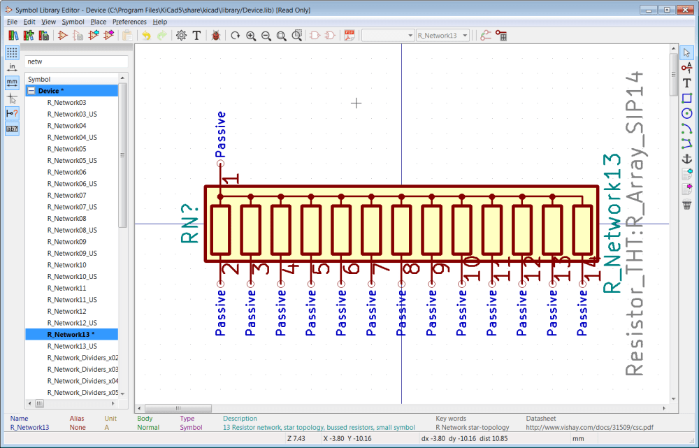 medium resolution of so all you need to do is add new pins numbered 15 and 16 it is common to add a schematic representation to a symbol to help a user understand the symbol