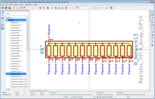 small resolution of so all you need to do is add new pins numbered 15 and 16 it is common to add a schematic representation to a symbol to help a user understand the symbol