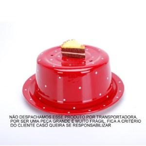 BOLEIRA COM TAMPA (DECORADA)
