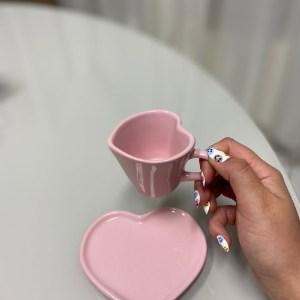 Xícara Love De Café (lisa) 100ml