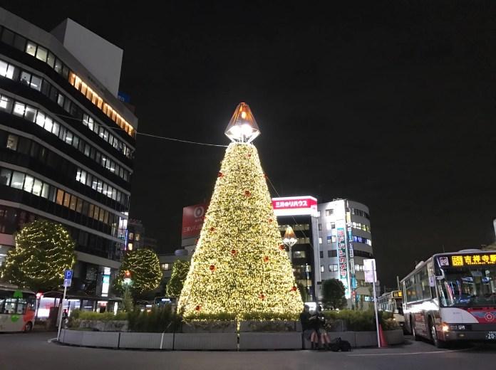 kichijoji_xmastree