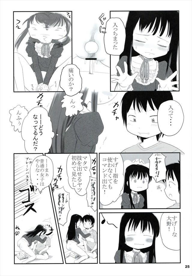 ハイスコアガール エロマンガ同人誌24
