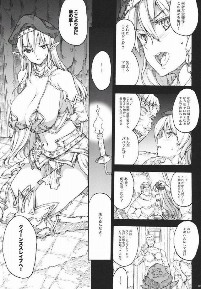 クイーンズブレイド エロマンガ・同人誌1006
