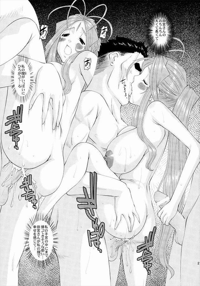 あぁ女神さま エロマンガ・同人誌8019