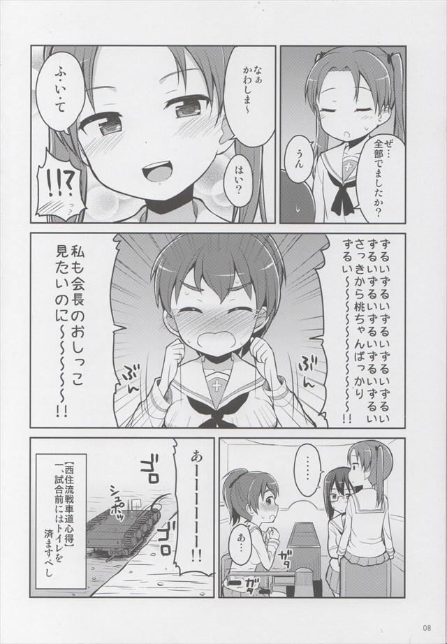 ガルパン エロマンガ・同人誌11007