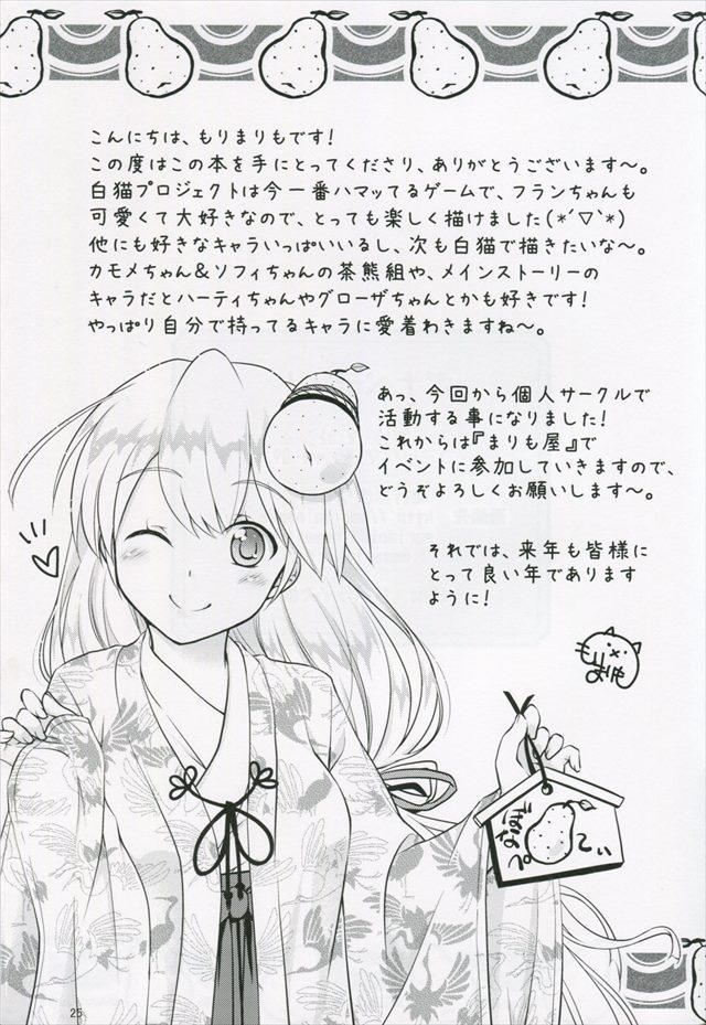 白猫プロジェクト エロマンガ・エロ同人誌3024