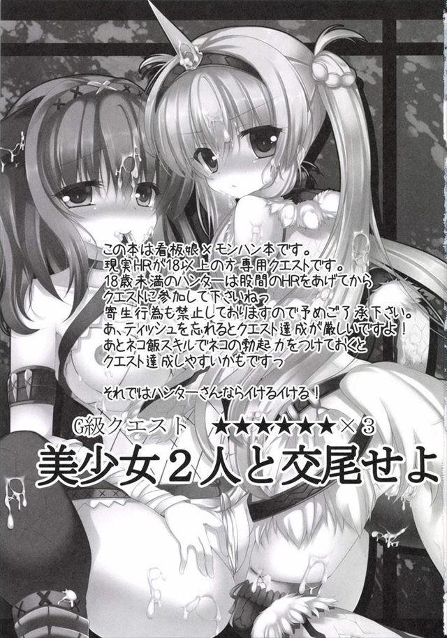 モンハン エロマンガ・同人誌22002