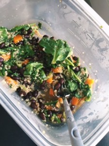 Leftover Spicy Steak Salad