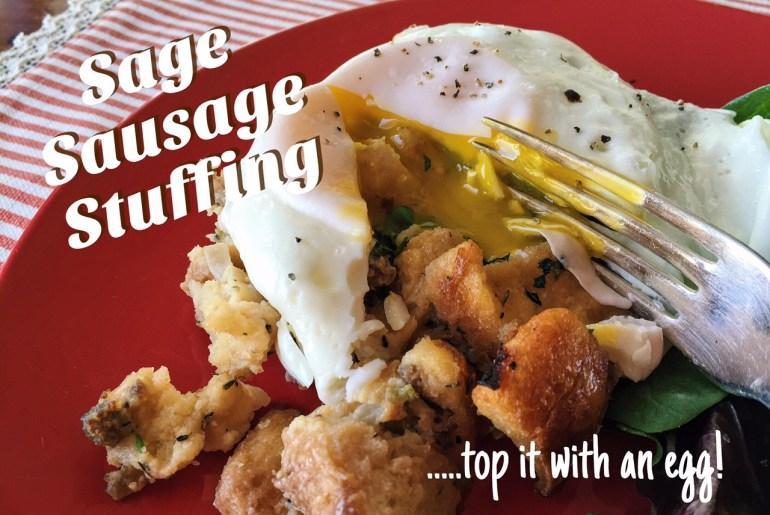 Sage Sausage Stuffing