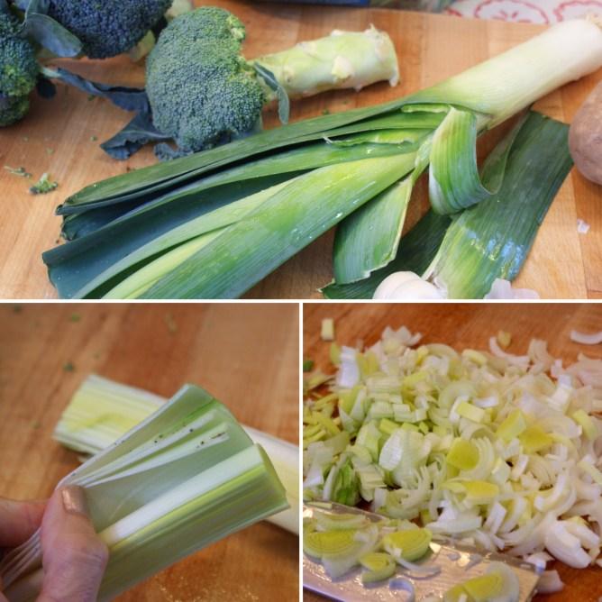 Spin-roccoli Soup