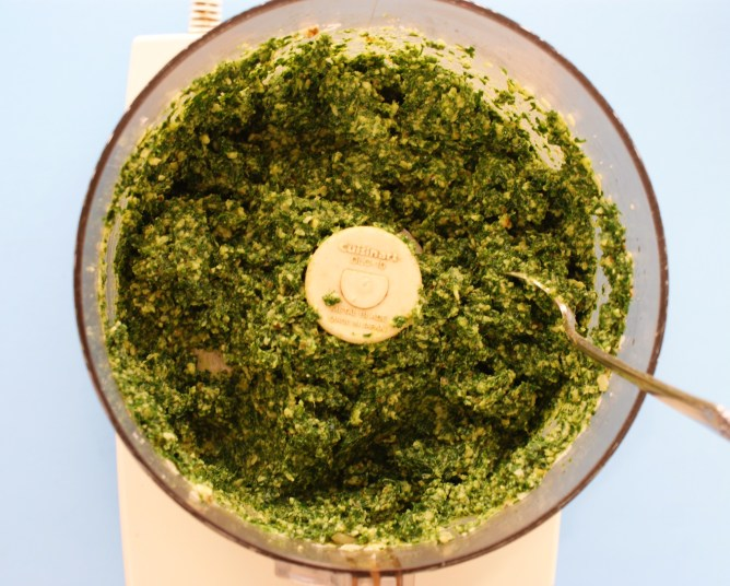Kale Pesto close up!