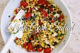 Grilled Fresh Corn Salad