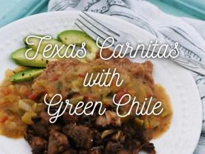 Texas Carnitas with Green Chile