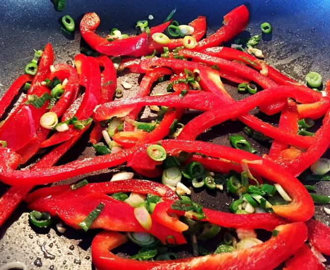 Zucchini Noodles Shrimp pad Thai