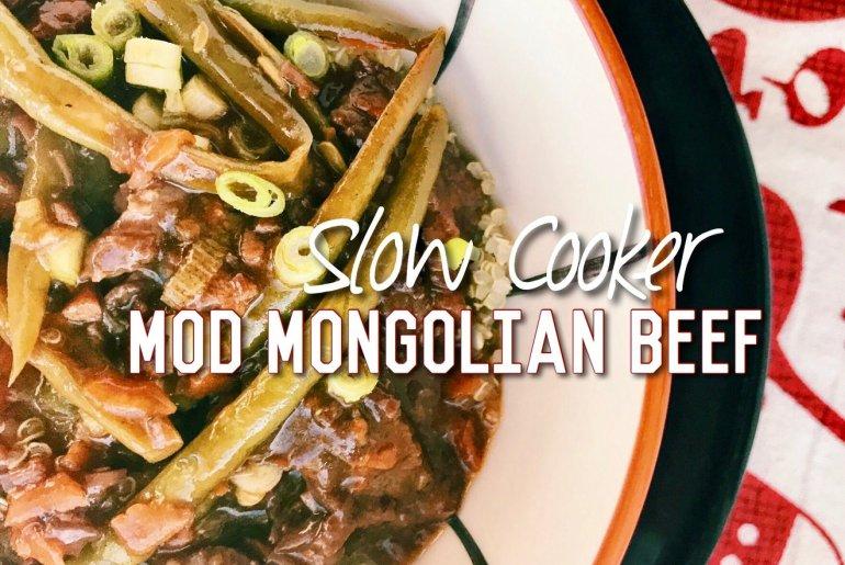Slow Cooker Mod Mongolian Beef