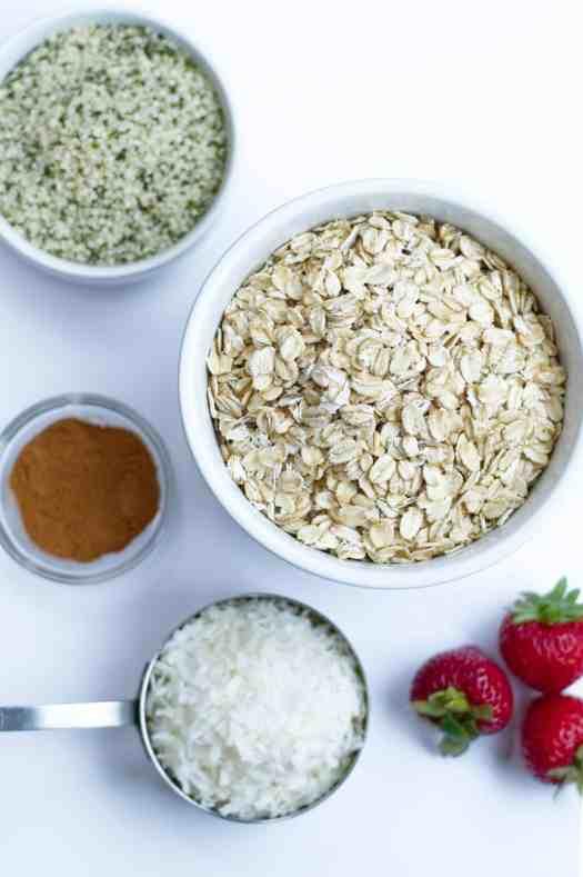 Easy Gluten-free, Nut-Free Granola | kickassbaker.com #granola #paleoish #glutenfreegranola #nutfreegranola #glutenfree #nutfree #allergyfriendly #kickassbaker