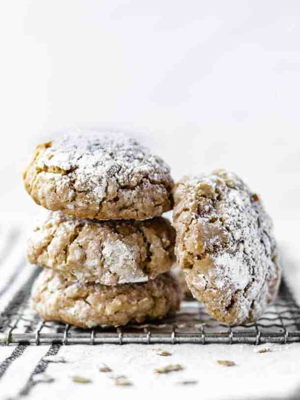 Oatmeal Cookies from Milk Bar Life cookbook | kickassbaker.com #milkbar #milkbarlife #oatmealcookies #grandmasoatmealcookies #withcoconut #cookies #kickassbaker