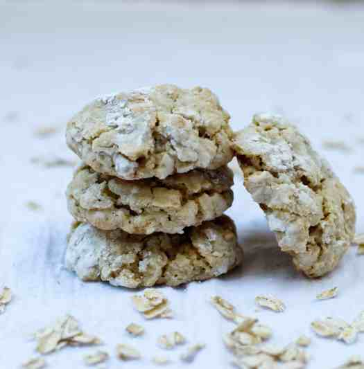 Oatmeal Cookies from Milk Bar Life cookbook | kickassbaker.com #milkbar #milkbarlife #oatmealcookies #grandmasoatmealcookies #withcoconut #cookies #kickassbaker