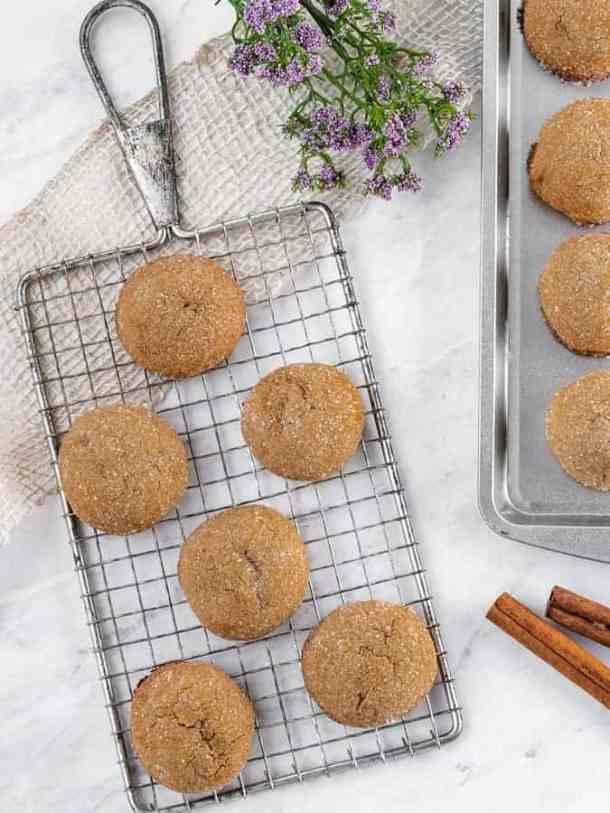 Brown Sugar Cookies | kickassbaker.com #brownsugar #sugarcookies #cinnamon #cardamom #softcookies #sugarcoated #kickassbaker #easyrecipes