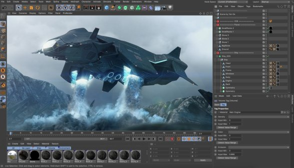Maxon CINEMA 4D Studio R21 Crack For Windows