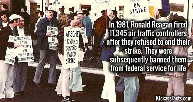 1055 Ronald Reagan ATC Strike