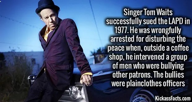 1140 Singer Tom Waits