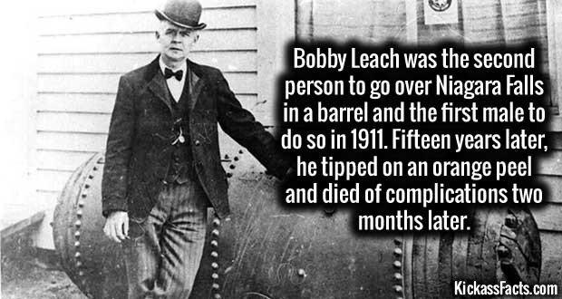 1303 Bobby Leach