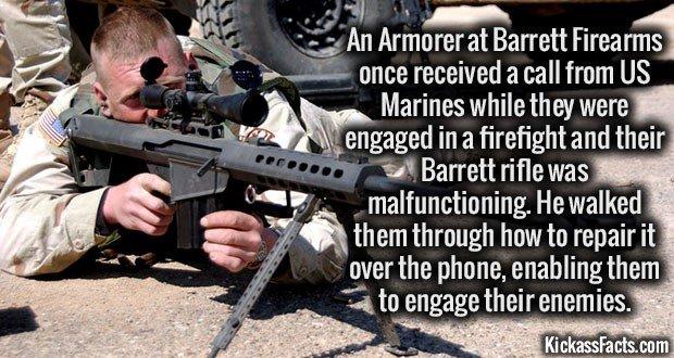 1470 Barrett Rifle