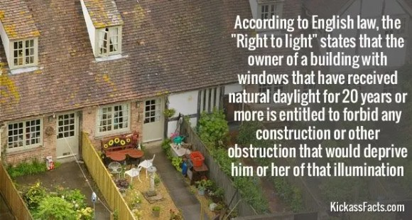 581Right to light