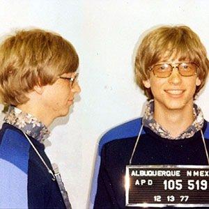 MugShot-Interesting Facts About Bill Gates