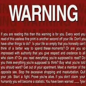 Warning-Interesting Facts About Fight Club