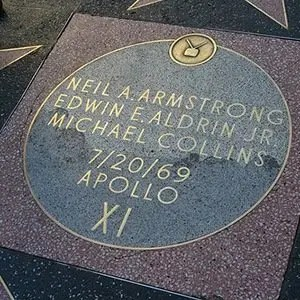 Neil Armstrong Hollywood Walk of Fame-Interesting Facts About Moon