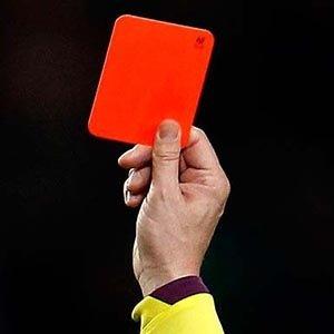 Red card-Random Facts List