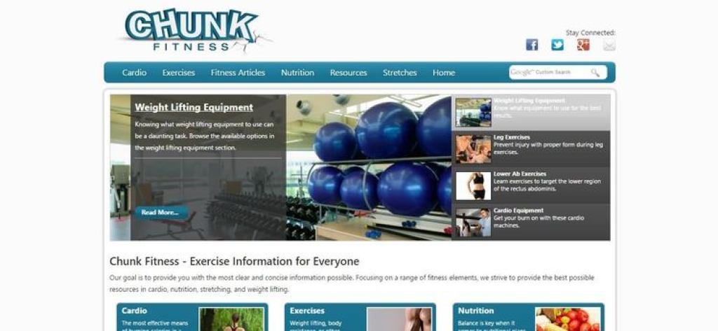 Chunk Fitness