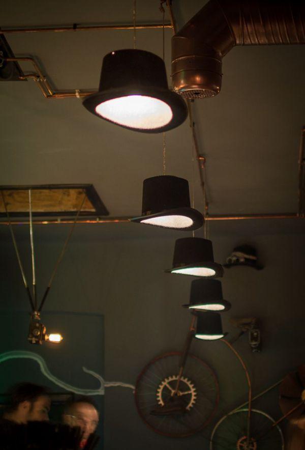 Joben Bistro Steampunk Designed Bar Takes In