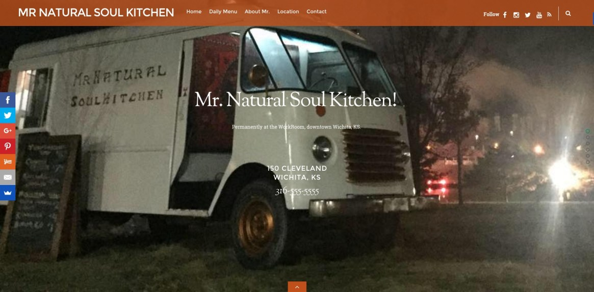 Mr Natural Soul Kitchen Food Truck