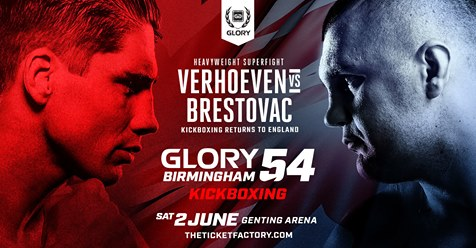 GLORY 54 poster