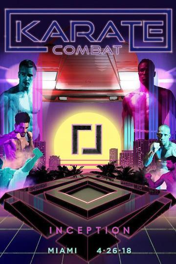 Karate Combat Inception Poster
