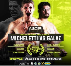 WGP 45 Fight Poster