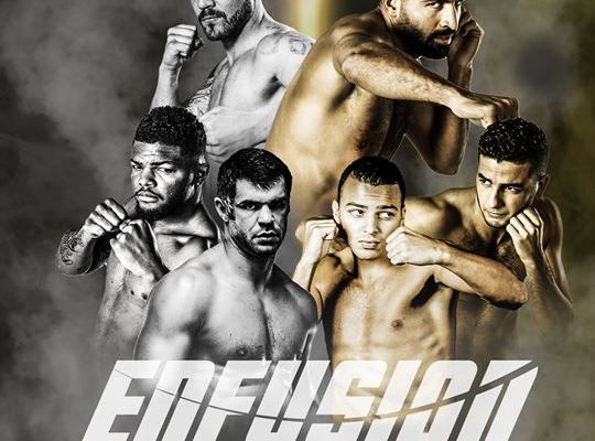 Enfusion Antwerp Fight Poster