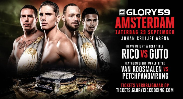 Glory 59 Fight Poster