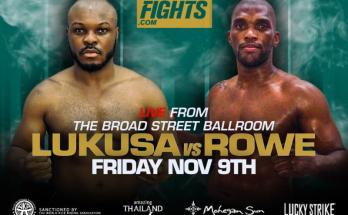 Friday Night Fights Poster 9 November
