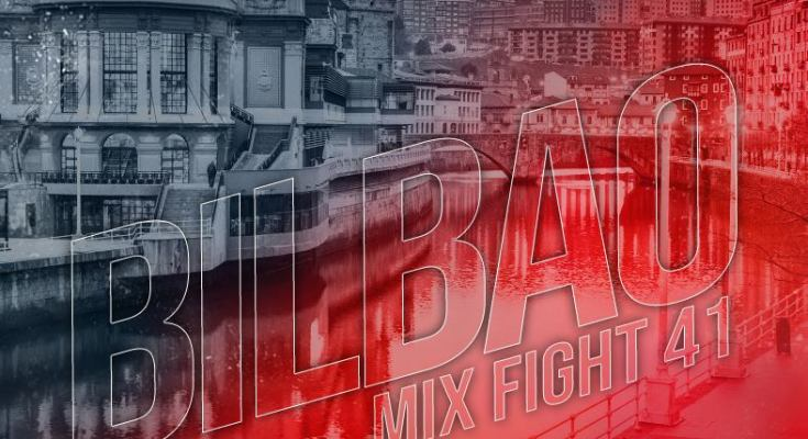 Mix Fight 41 Event Poster
