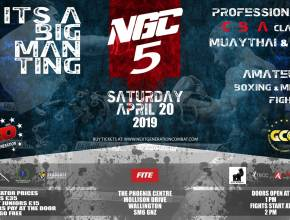 NGC 5 Fight Poster